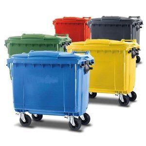 Contenedor de basura 1100 litros